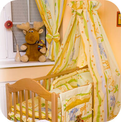NATIBABY bed canopy