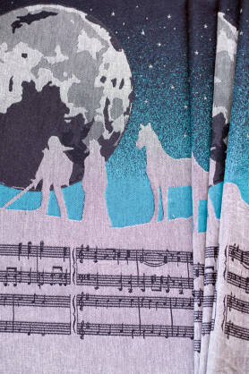 Adventure Song Tael's Dream, WRAP, [78% cotton, 3% polyester, 19% linen]