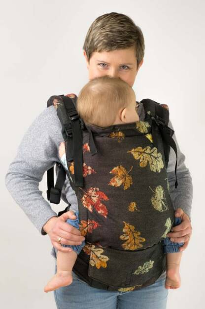 Leaves, NatiGrow Adjustable Carrier, [100% cotton]