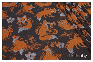 Foxes Narie RING SLING SP. OFF. (25% linen 75% cotton)
