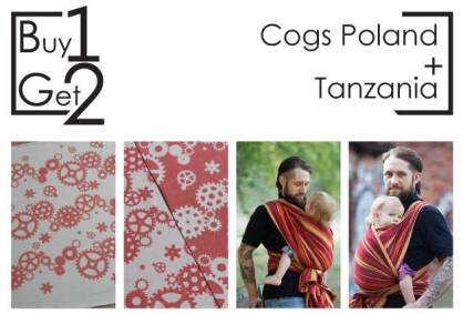 Buy1Get2  Cogs Poland 4.2 + Tanzania 4.6 sp.off.
