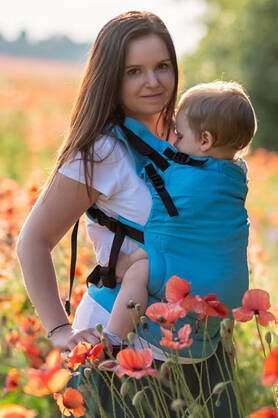 Morocco, NatiGrow Adjustable Carrier, [100% cotton]