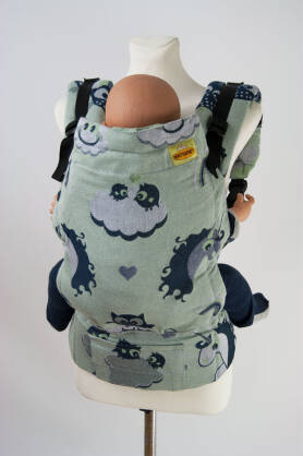 Unicorn Cotton Candy Pistacchio, NATIGO CARRIER, [90% cotton,10% polyester]