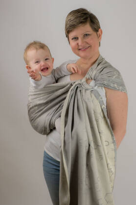 Oxytocin Haarma, RING SLING, [100% cotton]