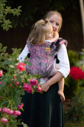 Fable Blossom, NatiGrow Adjustable Carrier, [100% cotton]