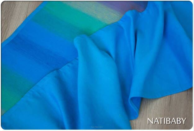 RAINBOW BLUE - Doll Wrap baby wrap, baby wraps, babywearing, wrap, wraps, for children, for child, sling, slings, baby sling, baby slings