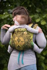 Friendly Lion Viridi, ONBUHIMO CARRIER, [100% cotton]