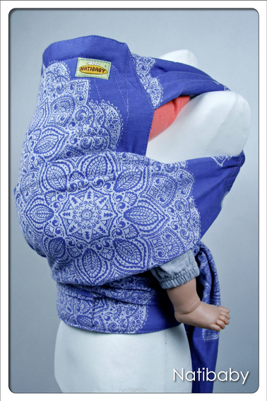Adornos Indios Blue, HALF BUCKLE CARRIER, [100% cotton]