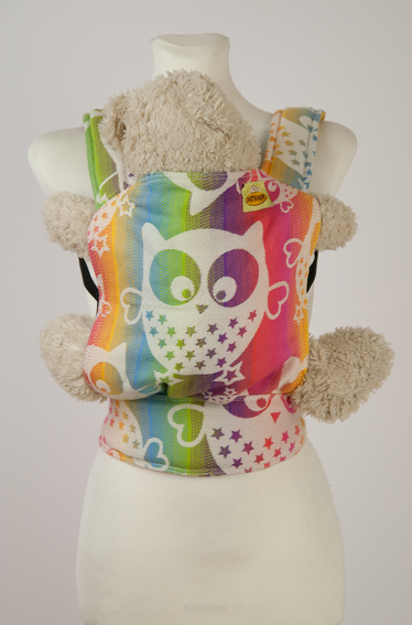 Doll Carrier Owls Colour Explosion