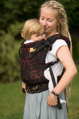 Oxytocin Fire, NatiGrow Adjustable Carrier, [100% cotton]