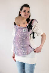Oxytocin Lavender, NatiGrow Adjustable Carrier, [40% linen, 60% cotton]