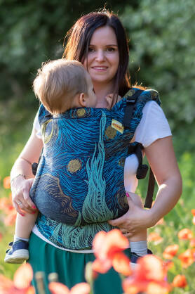 Starry Night, NATIGO CARRIER, [100% cotton]