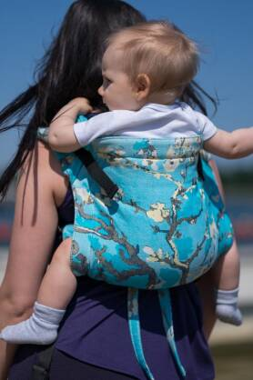 Almond Blossom, ONBUHIMO CARRIER, [100% cotton]