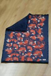 NatiBlanket Foxes Orenji