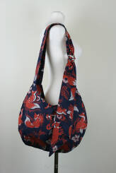 Hobo Bag Foxes Orenji