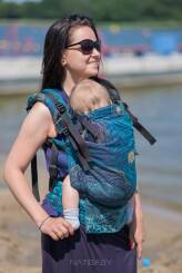 Starry Night Glitter, NatiGrow Adjustable Carrier, [90% cotton, 10% polyester]