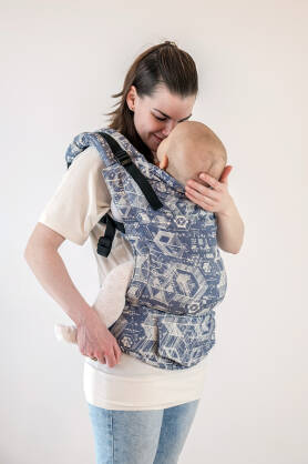 Technology Indigo, NATIGO CARRIER, [100% cotton]