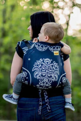 BABY Koguty Moonlight, ONBUHIMO CARRIER, [100% cotton]