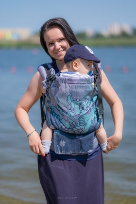 Land of the Dragons, NatiGrow Adjustable Carrier, [90% cotton, 10% polyester]
