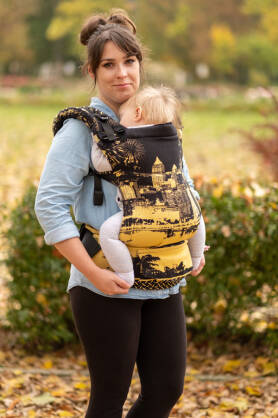 Steel City, NatiGrow Adjustable Carrier, [100% cotton]