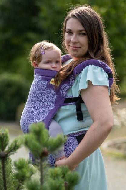 Adornos Indios Purple, NATIGO CARRIER, [100% cotton]