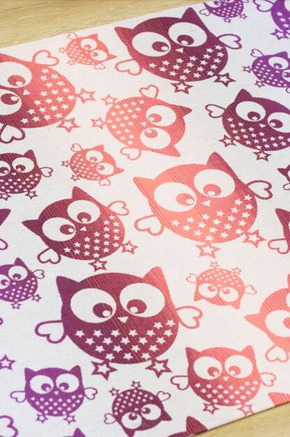 Owls Purple SCRAPS