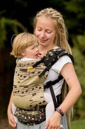 Fantasia, NatiGrow Adjustable Carrier, [85% cotton, 15% hemp]