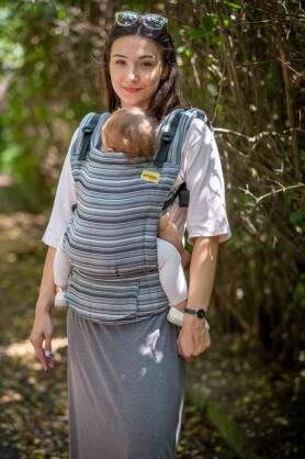 BABY Nepal, NATIGO CARRIER, [50% cotton, 50% linen]