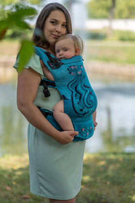 Full Sail,NatiGrow Adjustable Carrier, [93% cotton, 7% polyester]