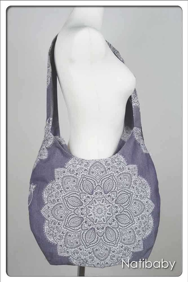 Hobo Bag Adornos Indios Purple