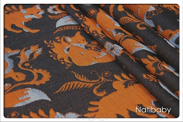 Foxes Narie WRAP SP. OFF. (25% linen 75% cotton)