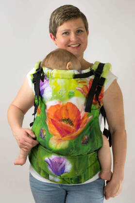 Poppy Field, NatiGrow Adjustable Carrier