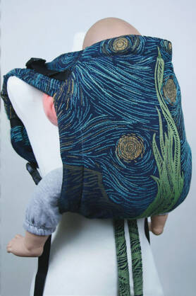 Starry Night Glitter, ONBUHIMO CARRIER, [93% cotton, 7% polyester]