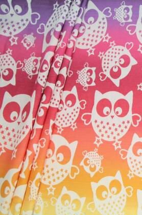 Mysterious Owls Day, WRAP, [100% cotton]