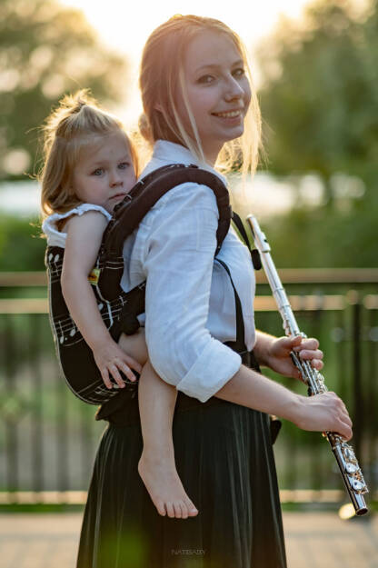 Notes, NatiGrow Adjustable Carrier, [100% cotton]
