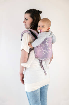 Oxytocin Lavender, ONBUHIMO CARRIER, [40% linen, 60% cotton]