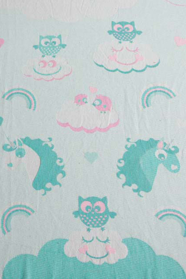 Unicorn Cotton Candy v1, RING SLING, [100% cotton]