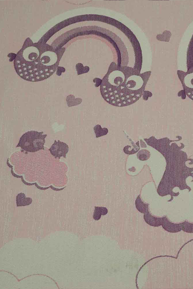 Unicorn Cotton Candy Love SCRAPS