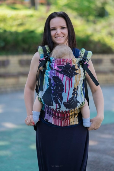 Fairy Tales, NatiGrow Adjustable Carrier, [100% cotton]