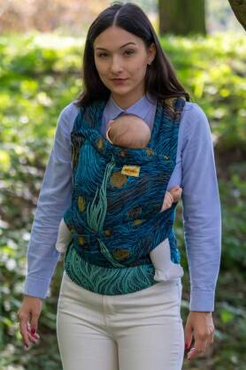 Starry Night, HALF BUCKLE CARRIER, [100% cotton]