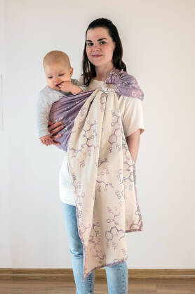 Oxytocin Lavender, RING SLING, [60% cotton, 40% linen]