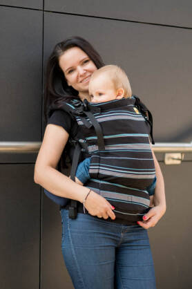 Mulu, NatiGrow Adjustable Carrier, [100% cotton]