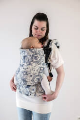 Technology White, NatiGrow Adjustable Carrier, [100% cotton]