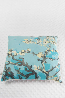 Square Pillow Almond Blossom