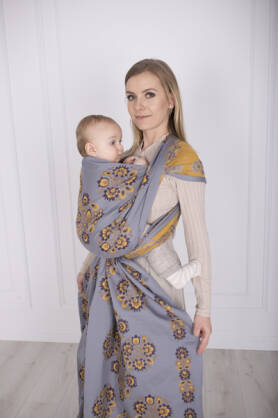 Folk Chamois, Ring Sling, [75% Cotton, 25% Silk]