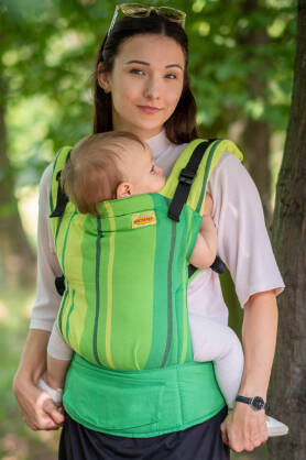 Avocado,  NATIGO CARRIER, [100% cotton]