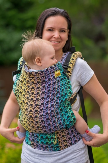 Rythm of the Heart, NATIGO CARRIER, [100% cotton]