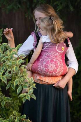 Sibillinya Light Red, NATIGO CARRIER, [100% cotton]