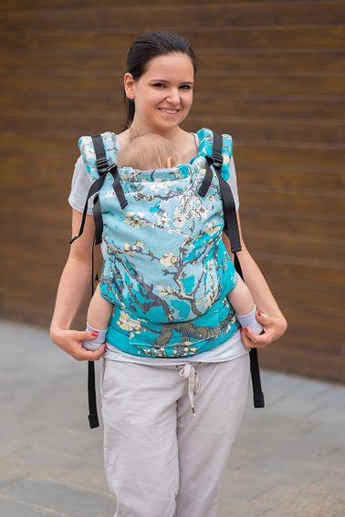 Almond Blossom, NatiGrow Adjustable Carrier, [40% cotton, 20% bamb.visc, 40% linen]