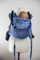 Adornos Indios Blue Version 2, ONBUHIMO CARRIER, [100% cotton]